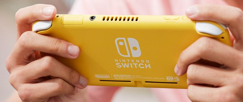 Nintendo Switch Lite - version jaune