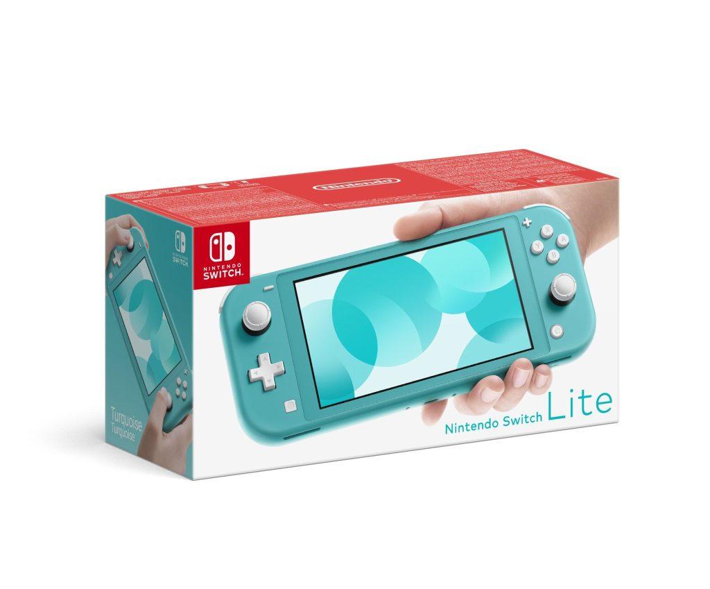 Nintendo Switch Lite - version turquoise