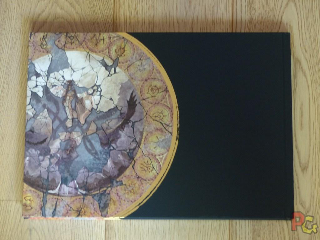 Unboxing Fire Emblem Three Houses - artbook verso