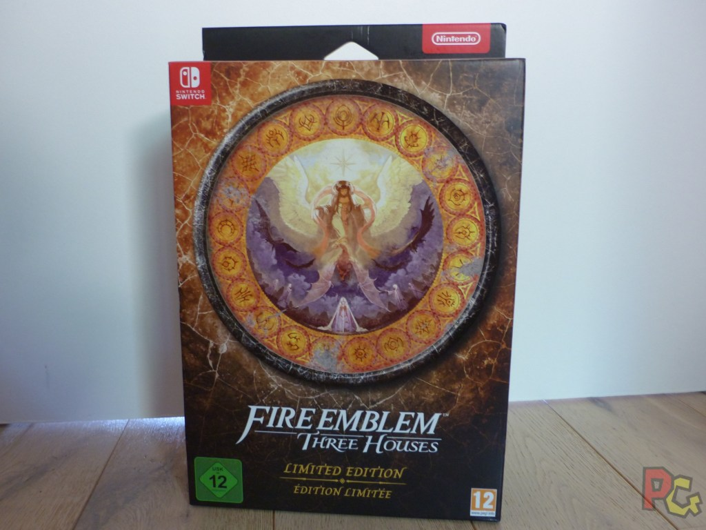 Unboxing Fire Emblem Three Houses - avant boîte