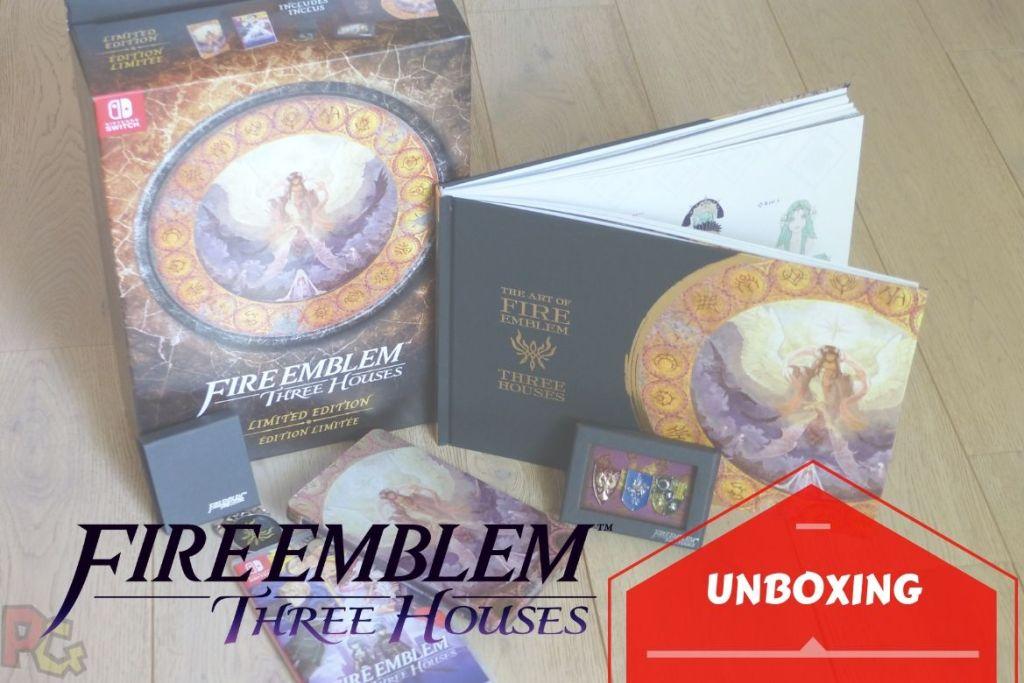 Unboxing Fire Emblem Three Houses - bannière
