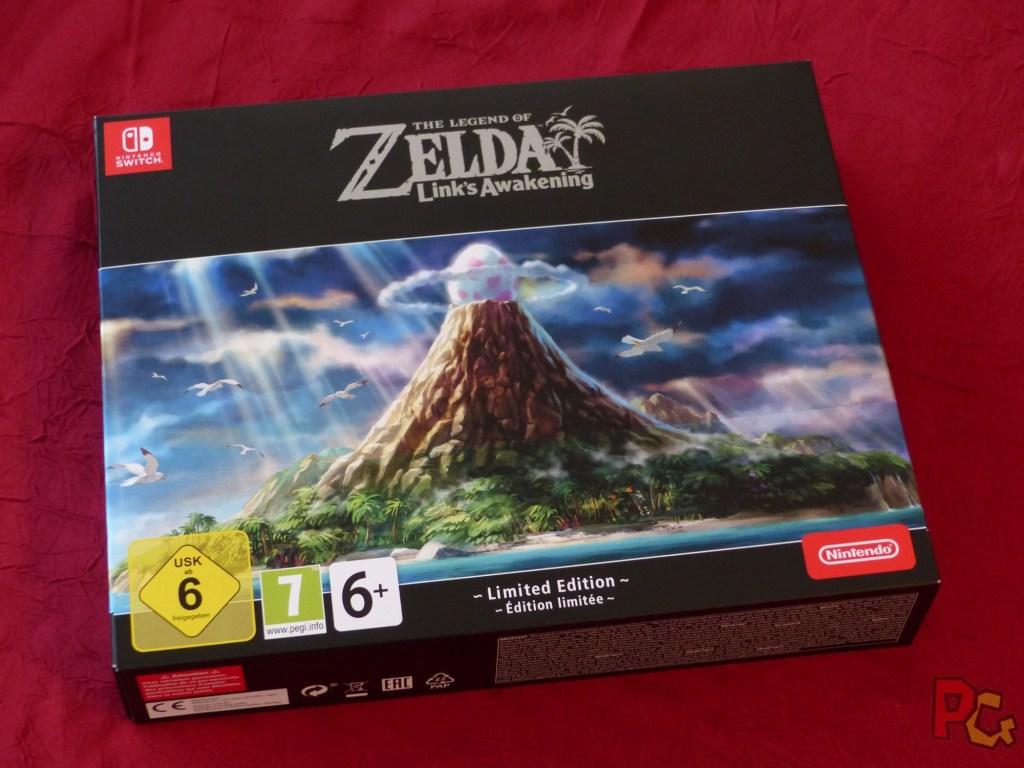 Collector Zelda Link's Awakening - boîte vue de devant