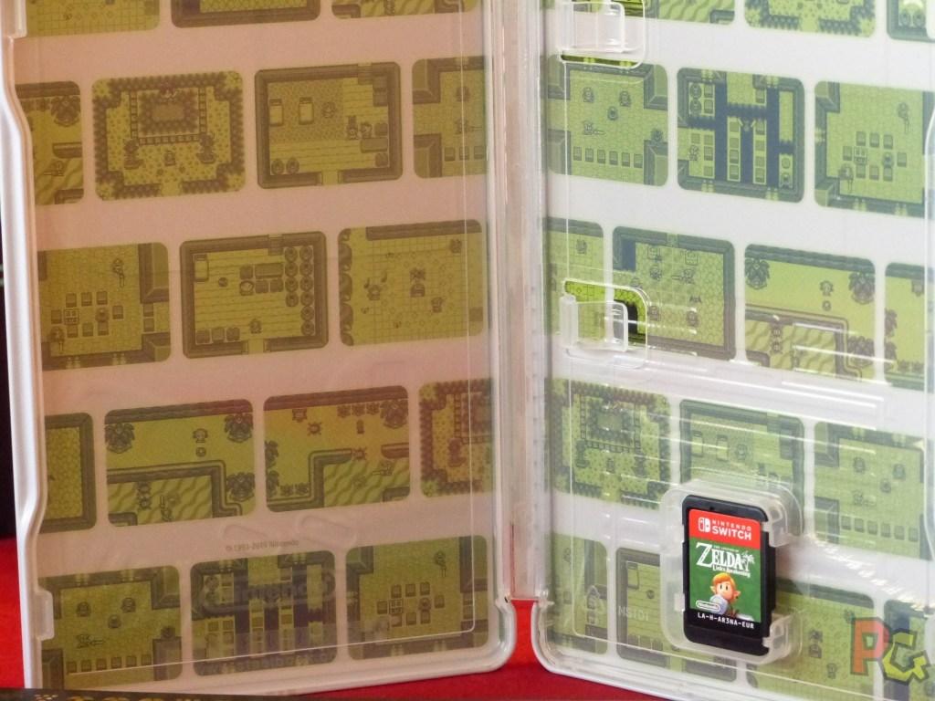 Collector Zelda Link's Awakening - steelbook gameboy intérieur