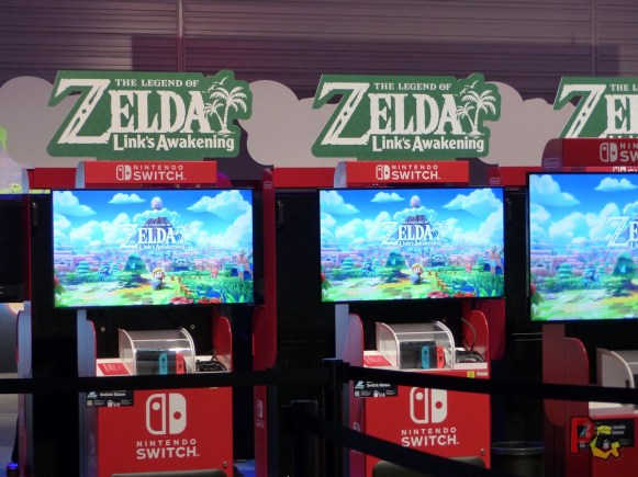 Preview Zelda Links Awakening gamescom stand