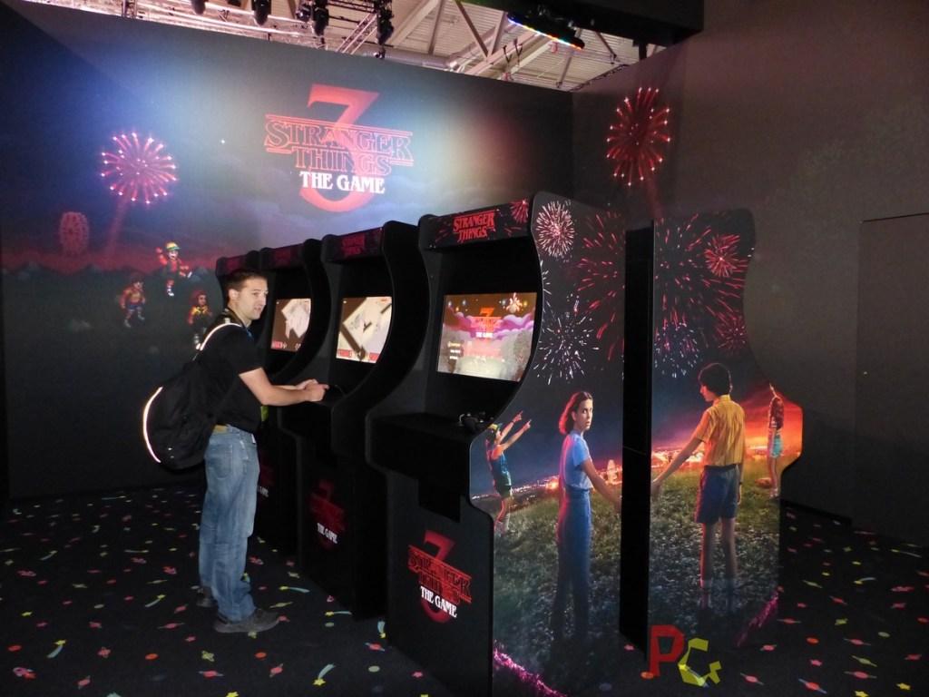 Stranger Things 3 - bornes arcade
