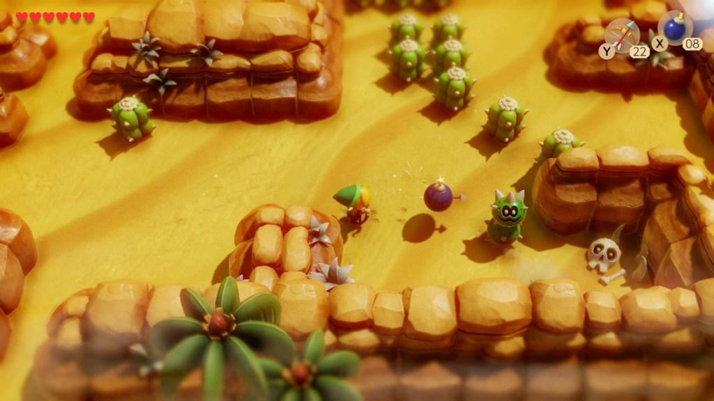 Zelda Links Awakening - désert