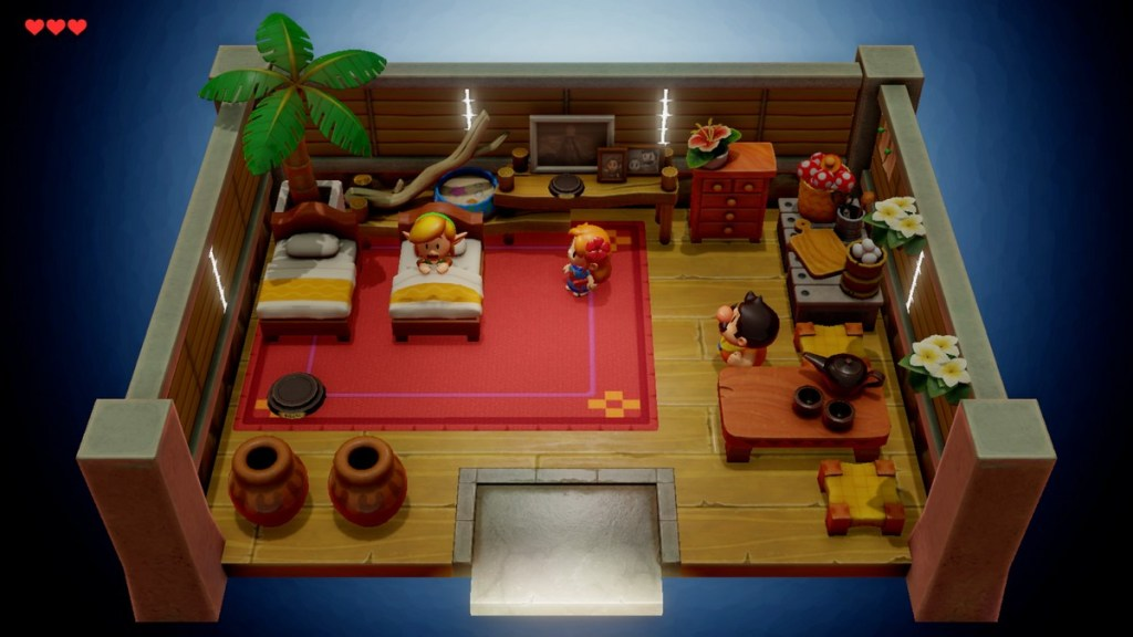 Zelda Links Awakening - maison