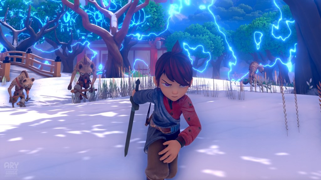 Ary and the Secret of Seasons combat en hiver