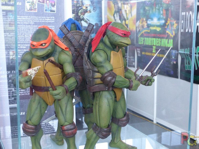 TGS Lyon 2019 - expo tortues ninja