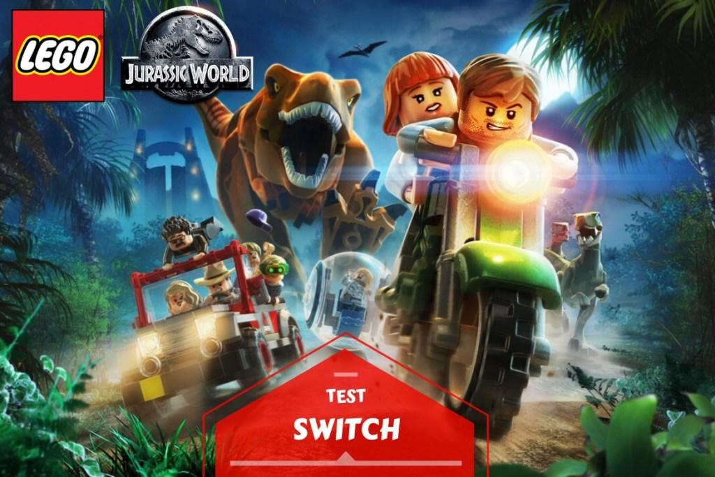 Bannière Lego Jurassic World
