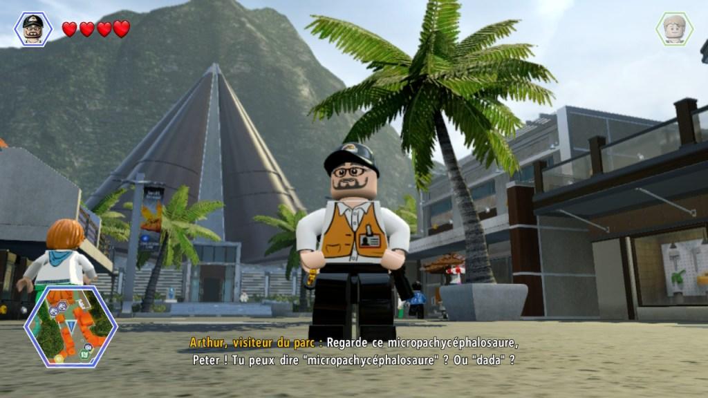 Lego Jurassic World - Steven Spielberg