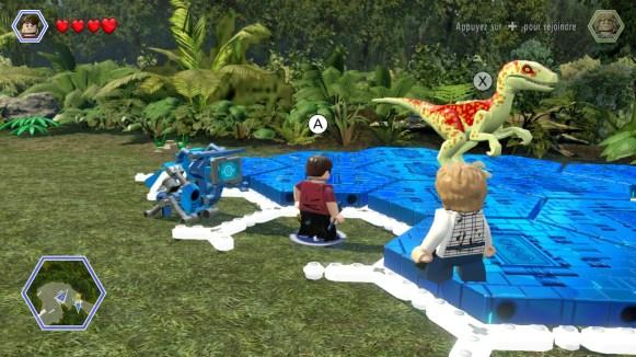 Lego Jurassic World - générateur dino