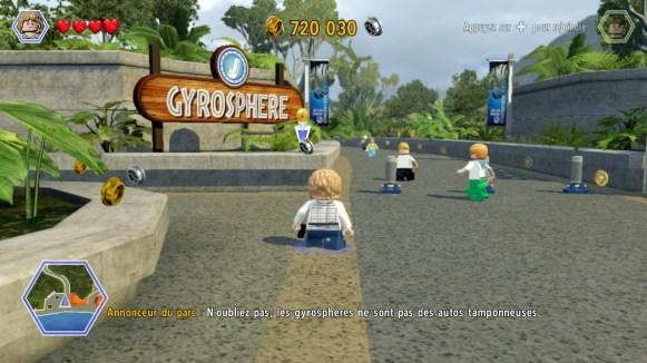 Lego Jurassic World - gyrosphères