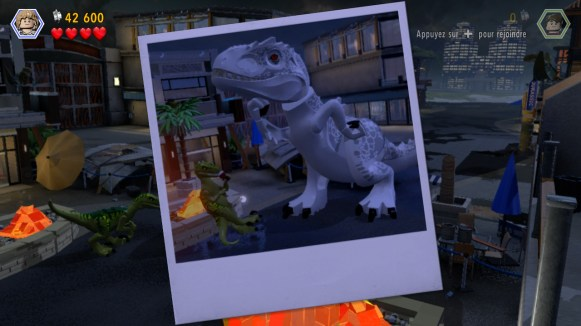 Lego Jurassic World - photo dino humour
