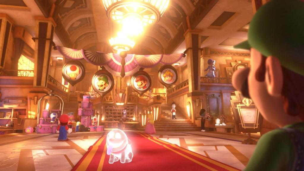 Luigis Mansion 3 - hôtel de luxe