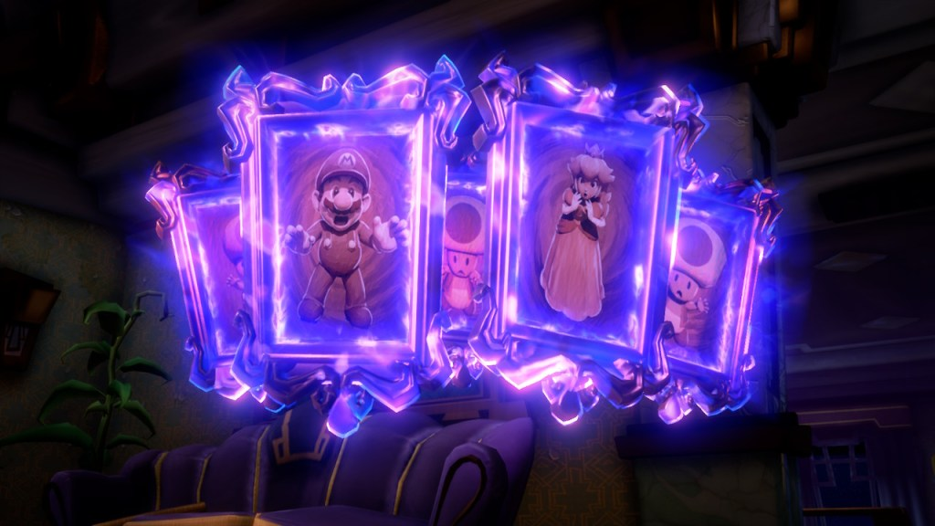 Luigis Mansion 3 - tableaux
