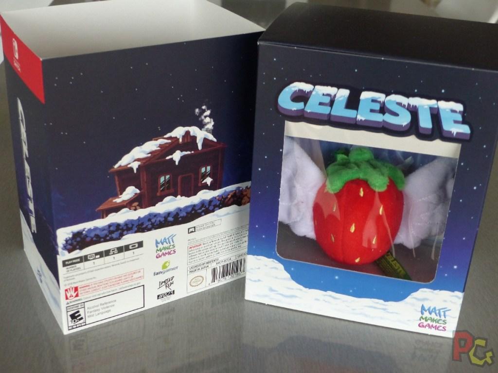 Unboxing collector Celeste - coffret déboîté