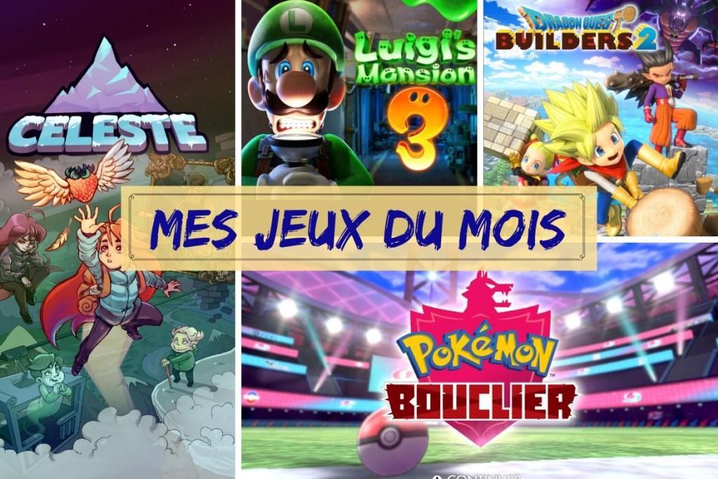 Bilan jeux décembre 2019