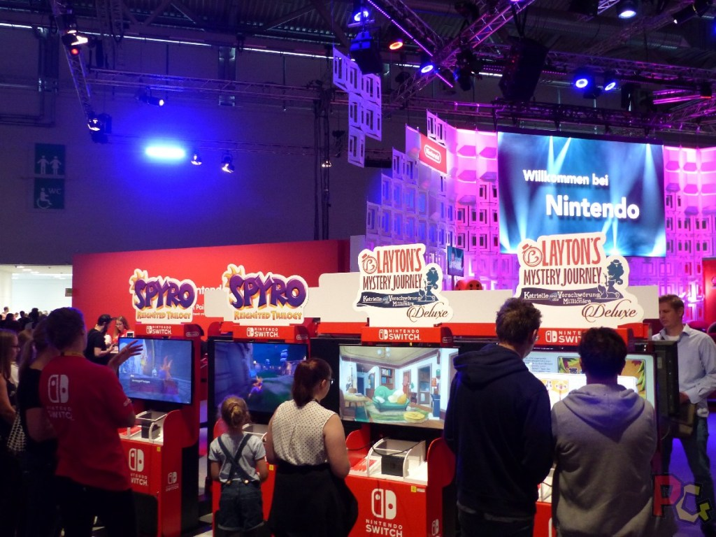 Nintendo GC2019 - Layton et Spyro