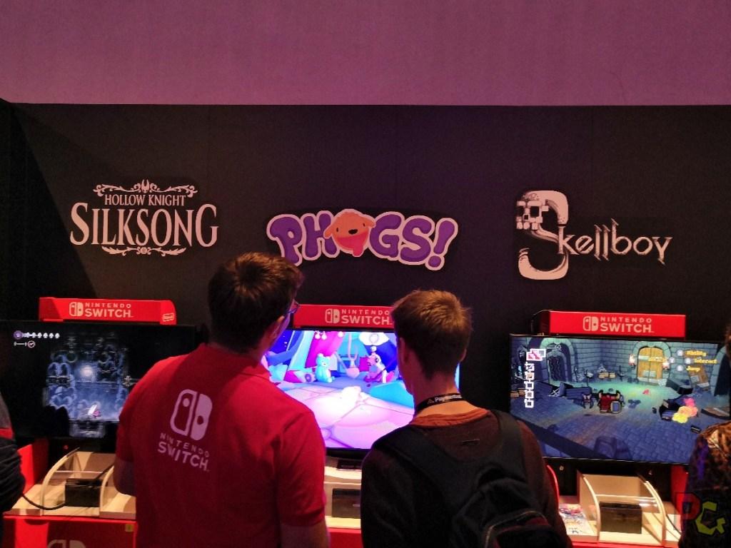 Nintendo GC2019 - Phogs! borne