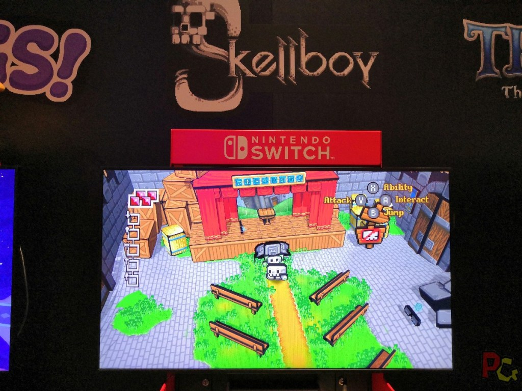 Nintendo GC2019 - Skellboy
