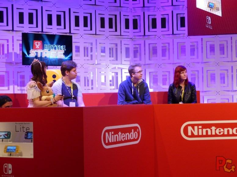 Nintendo GC2019 - scène côté compétition