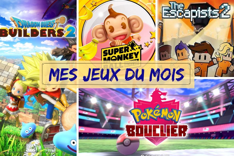 Bilan jeux janvier 2020