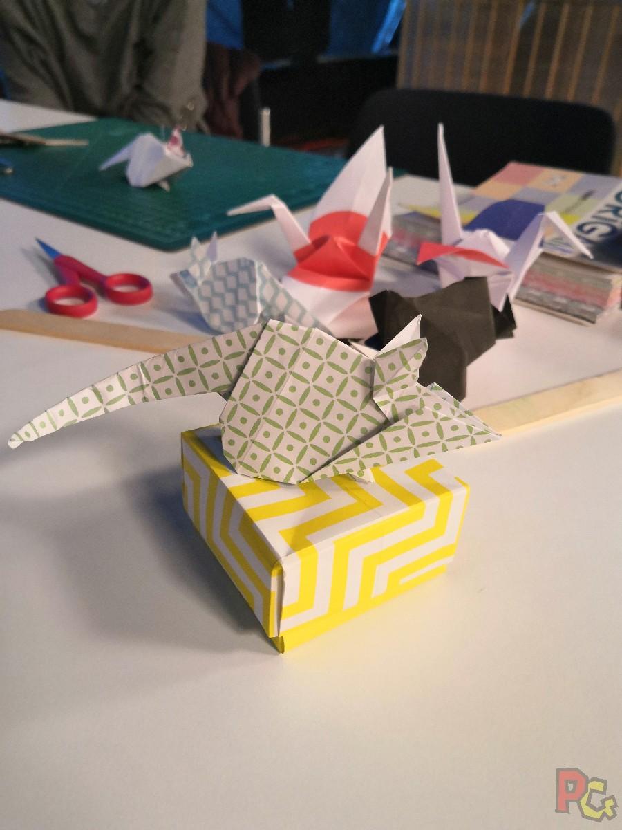 PAF2020 - origami fin