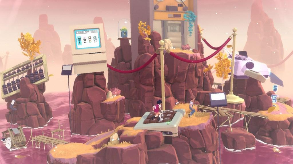 The Gardens Between - clavier numérique