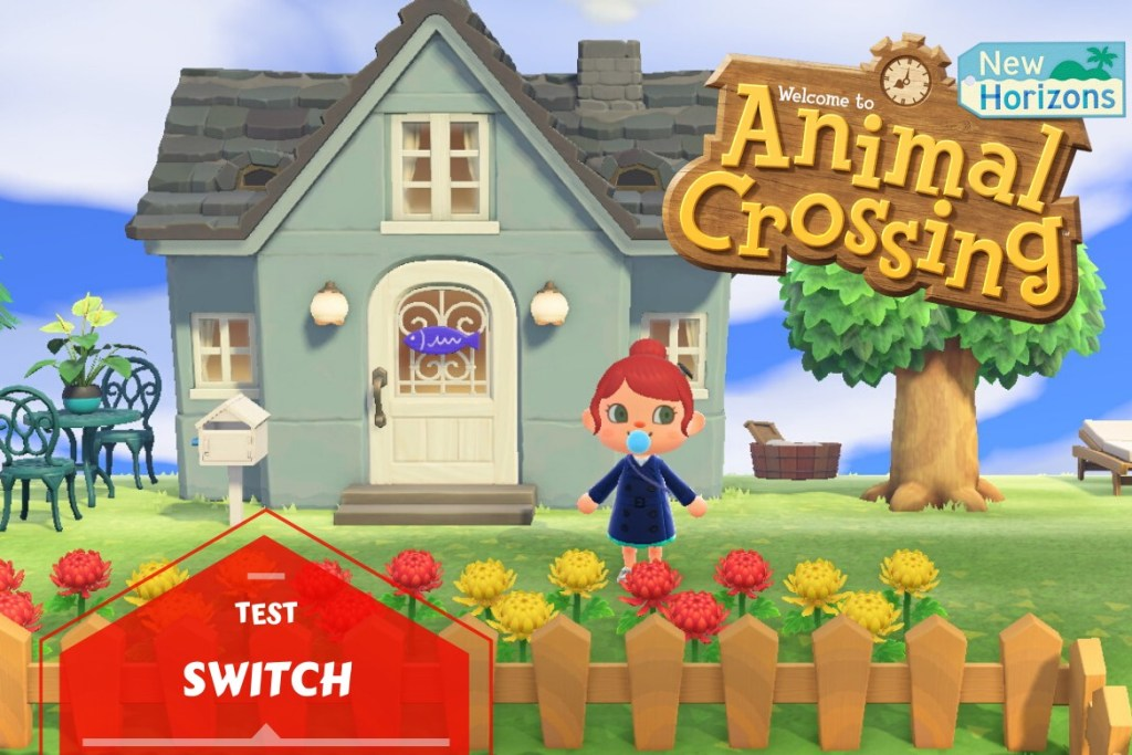 Bannière test Animal Crossing New Horizons Switch