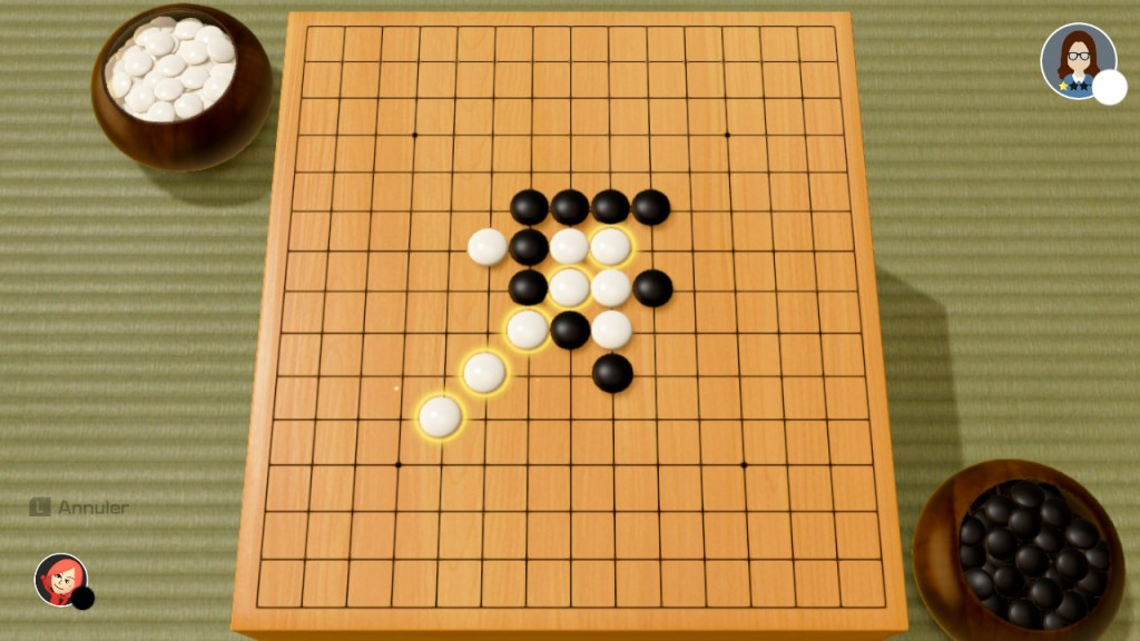 51 Worldwide games - gomoku