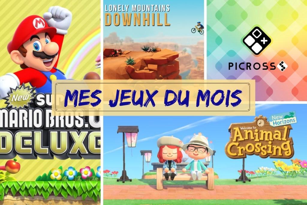 Bilan jeux mai 2020