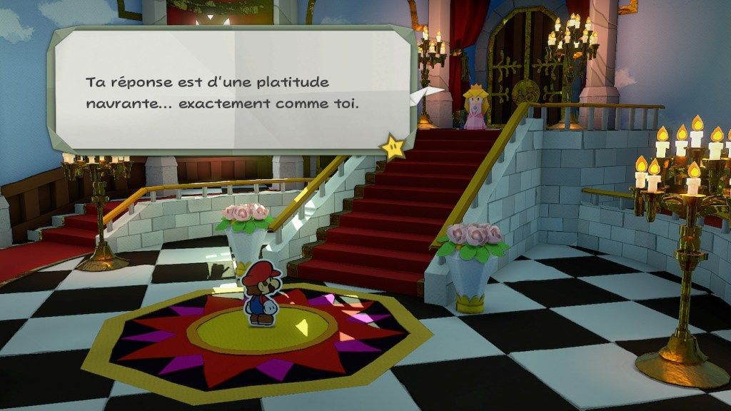 Paper Mario The Origami King - Princesse Peach