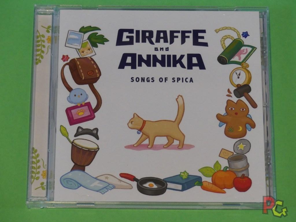 Giraffe and Annika - CD recto