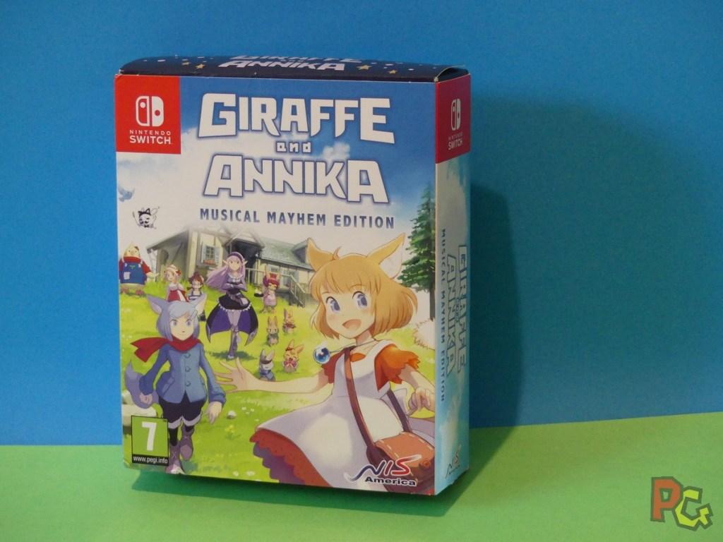 Giraffe and Annika - recto edition Musical Mayhem