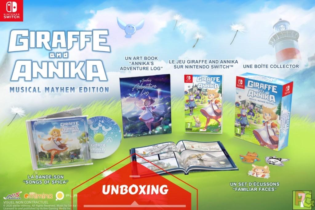 Unboxing Giraffe and Annika Musical Mayhem Edition