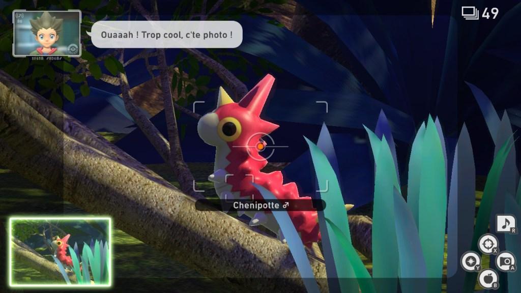 New Pokemon Snap - Chenipotte
