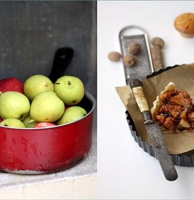 Baking | APPLE & PEAR OPEN PIE … 'Fruit in Baking' – come mingle