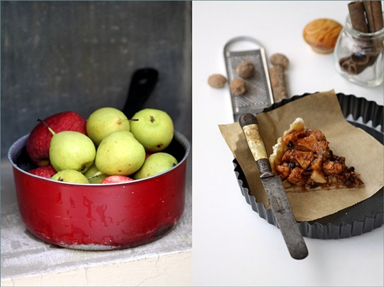 Baking | APPLE & PEAR OPEN PIE … 'Fruit in Baking' – come mingle