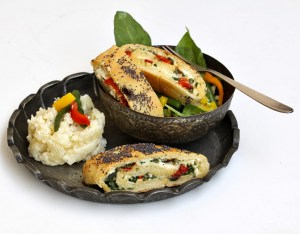 Ricotta & Spinach Roulade-Ottolenghi