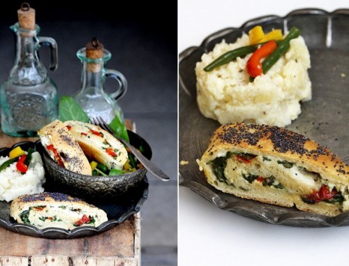 Ricotta & Spinach Roulade