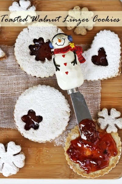 Baking | Toasted Walnut Linzer Cookies with Strawberry Filling … Holiday Baking Fun!
