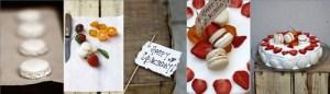 Strawberries & Cream Mac-o-range Cake