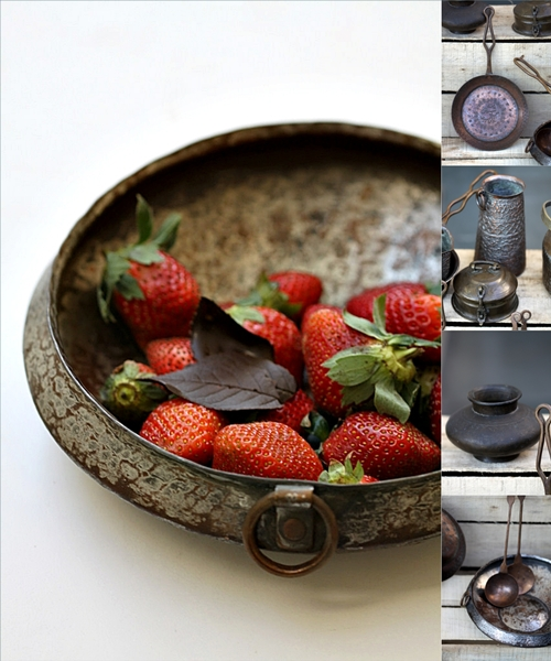 Vintage Indian Pots & Pans-my collection