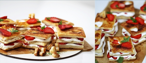 Strawberry-Whipped-Lemon-Curd-Napoleans8 Baking| Strawberry & Whipped Lemon Curd Napoleans ... ♥Happy V Day♥