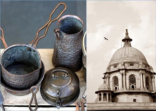 Vintage pots & pans, New Delhi
