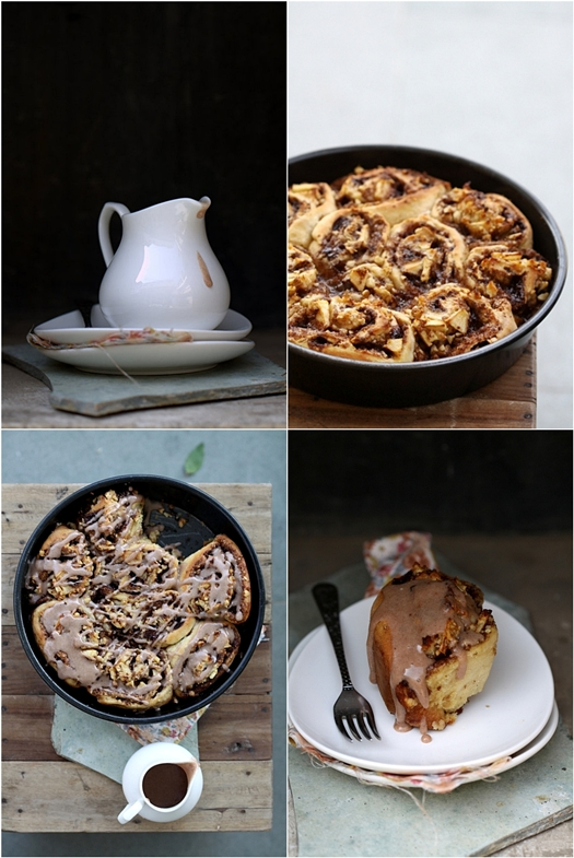 Quick Apple Cinnamon Buns {no yeast}