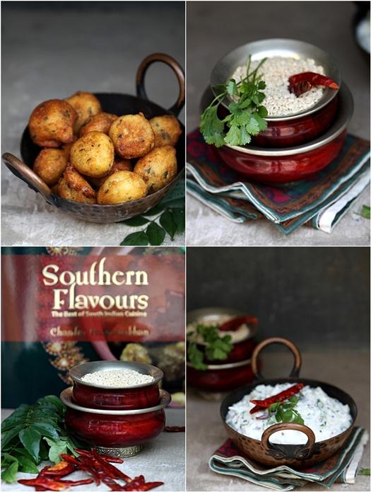 Curd Rice and Medhu Vadai