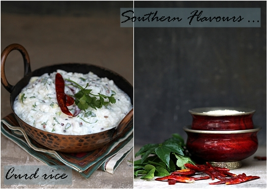 Book Review | Southern Flavours …. Curd rice & Lentil patties {Medhu vadai}