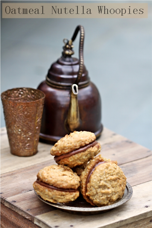 Baking | Oatmeal Nutella Whoopie Pies … and a peep into Old Delhi